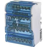 Блок распределительный EDB-407  4p, 3L+PE/N, 125A (7 выходов)