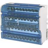 Блок распределительный EDB-411  4p, 3L+PE/N, 125A (11 выходов)