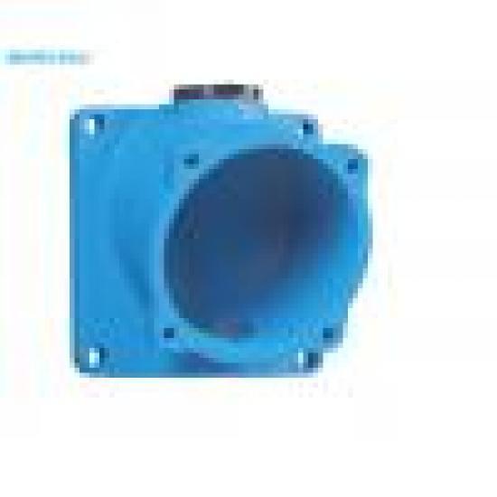 Настенная коробка-основание металл (наклон 20°) отверстие под кабельный ввод М25 - Фотография №1