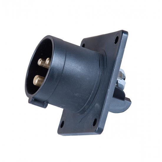 Вилка встраиваемая 32А/480V/1p+N+E/IP44 - Фотография №1