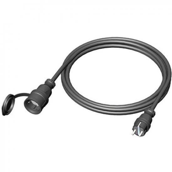 Удлинитель Schuko розетка - Schuko вилка 25м. IP44 кабель XTREM H07RN-F 3х1.5 - Фотография №1