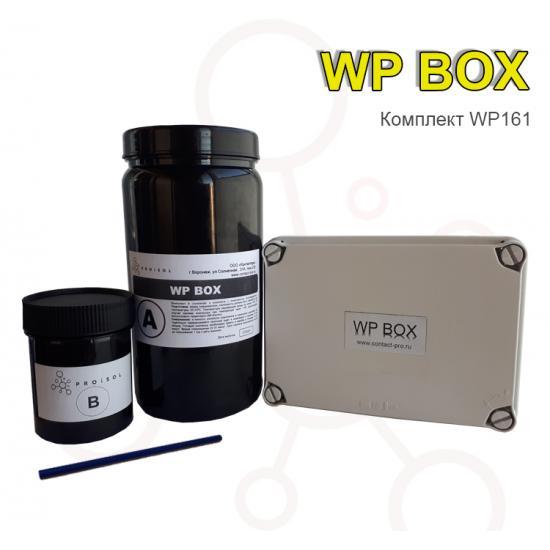 Коробка распределительная 116x162x76 в комплекте с заливным удаляемым компаундом Proisol, без клемм - Фотография №1