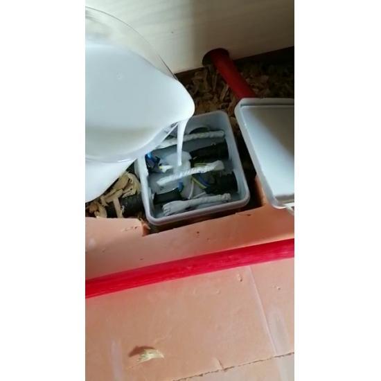 Коробка распределительная 85х85х40  в комплекте с заливным удаляемым компаундом Proisol, без клемм - Фотография №2