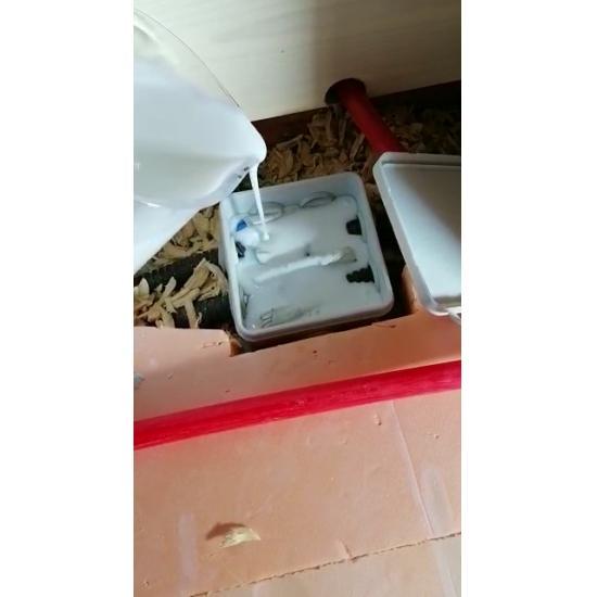 Коробка распределительная 85х85х40  в комплекте с заливным удаляемым компаундом Proisol, без клемм - Фотография №3